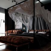 Измененная спальная комната