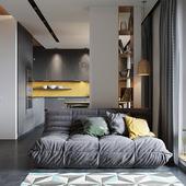 Yellow plywood