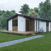 Небольшой модульный дом