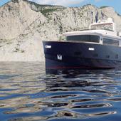 Яхта компании Popilov Yachts