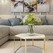 Living room 46 kv.m
