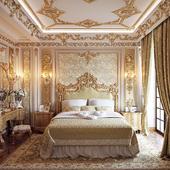 gold bedroom II