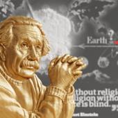Альберт Эйнштейн , рельеф