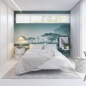 Visualization. Quest bedroom