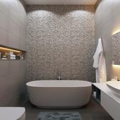 Ванная комната 6 кв. м.