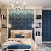 """Cottage in Ulyanovsk  """"Blue bedroom in the cottage"""""""