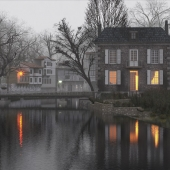 House on the river