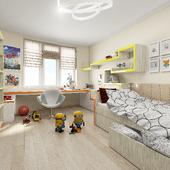 Дизайн детской комнаты для Александра