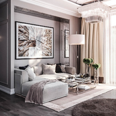 - Living room - Neoclassic -