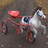 конь педальный