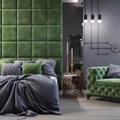 Спальня неоклассика