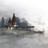 Храм-часовня. Нижний Новгород