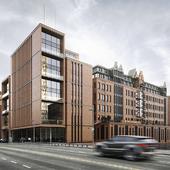 New Headquarter Extension for Gerb / gmp Architekten, Hamburg, Germany