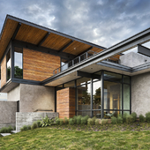 Hous in Austin Parallel Architecture, USA