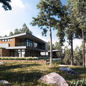 The House In The Pine Forest