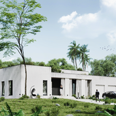 Реконструкция индивидуального жилого дома.