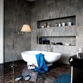 Ванная комната с дизайн проекта