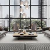 CG - Contemporary Living Room