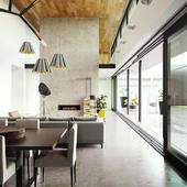 Бетонный дом | Архитектор Мэтт Гибсон | Мельбурн, Австралия