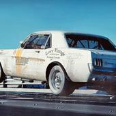 Mustang Dragster