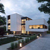 Syncline House.