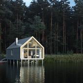 Летний дом на озере