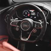 Audi TT Rs artistic mood