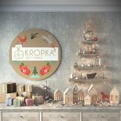 Рекламный постер для магазина art-kropka.by