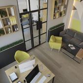 Интерьер офиса для небольшой компании