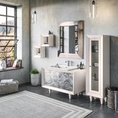 Визуализация мебели для ванной комнаты
