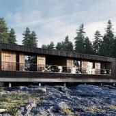 Hideg House  by Béres Architects
