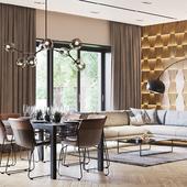 Contemporary Interior Design and Visualization
