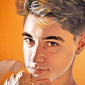 Artyom's portrait. Soft-pastel.