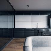 Apartment in Kiev. Studio Sirotov Architects.
