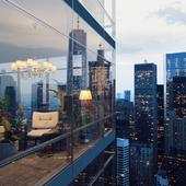 Вечерний Манхэттен
