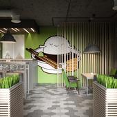 Дизайн суши бара