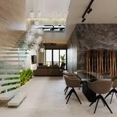 Двухуровневые апартаменты в Сочи