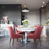 Grey kitchen project