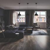Dark Apartments