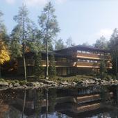 hillside house 01