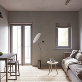 Small apartment in Kiev