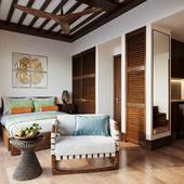 Hotel room Tahiti