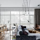 living room(сделано по референсу)