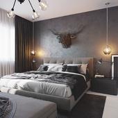 Спальня Black and White