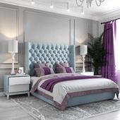 Neoclassic bedroom