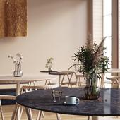 Cafe Coutume by Studio Joanna Laajisto (сделано по референсу)