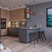Дизайн квартиры для молодого парня на берегу Черного моря.