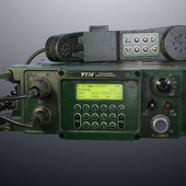 Мобильная УКВ радиостанция.