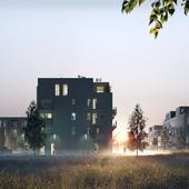 Жилой комплекс под Киевом