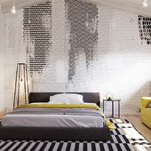 Private house interior design and visualization